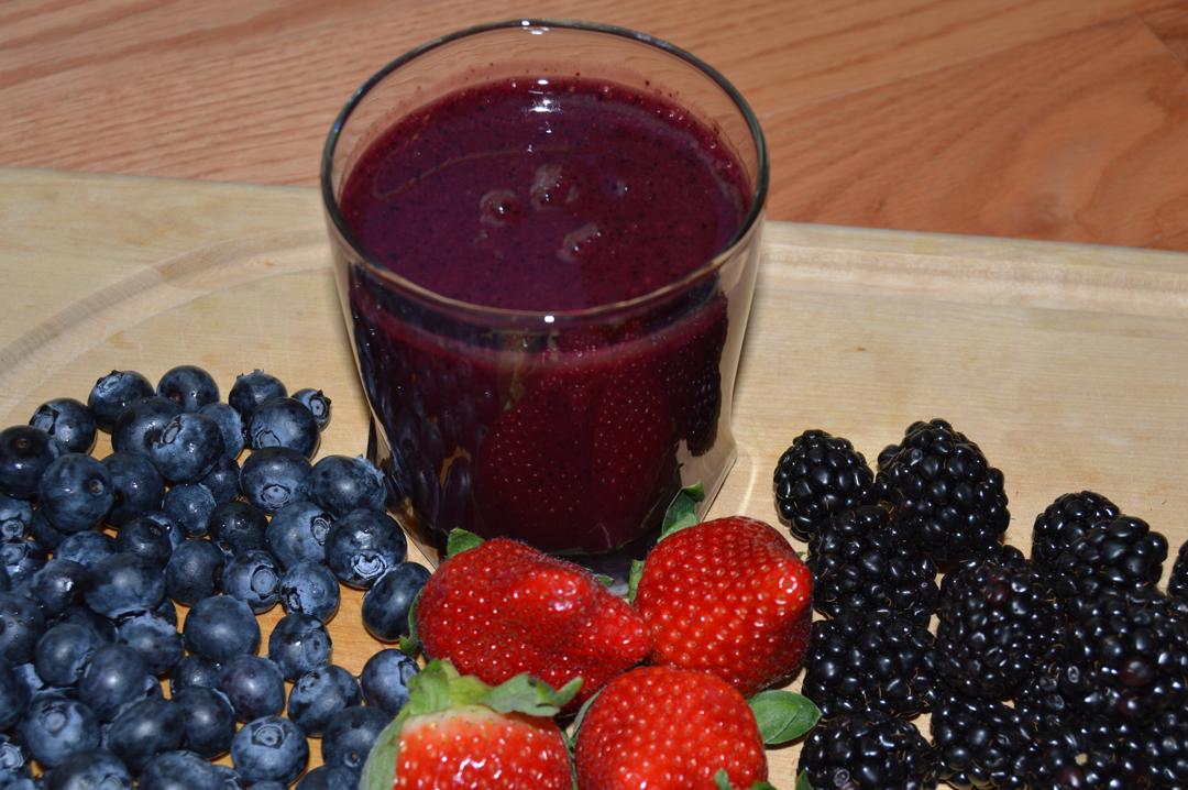 Berry Blast Nutribullet Shake