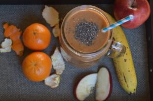 Orange Apple Banana Smoothie Recipe