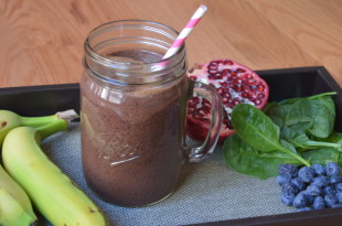 Pomegranate Blueberries Smoothie Recipe